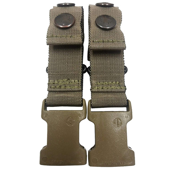 PLCE Body Armour Clips (Set of 2) - Light Olive
