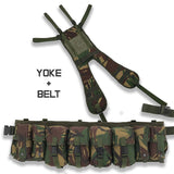 Special Forces Airborne Webbing Set DPM (4 Pocket Belt + Yoke)