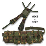 Special Forces Airborne Webbing Set DPM (3 Pocket Belt + Yoke)