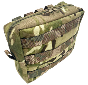 Zipped Utility Pouch Horizontal (Molle)
