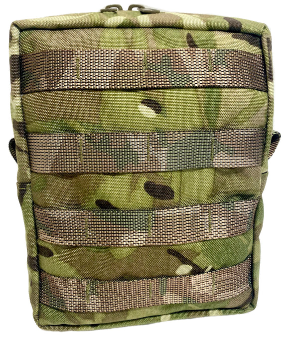 Zipped Utility Pouch Vertical (Molle)