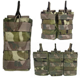 Open Top Ammo Pouch (Molle) - (Double)