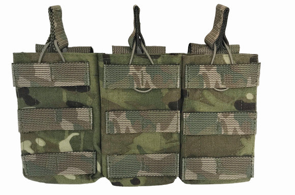 Open Top Ammo Pouch (Molle) - (Triple)