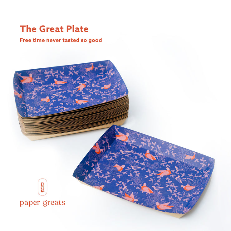 The Great Plate - Paper Plates - Paper Greats