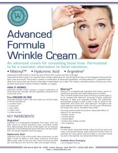 Advanced Wrinkle Cream