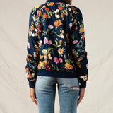 Caily Floral Bomber