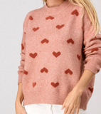 Caroline All Hearts Sweater