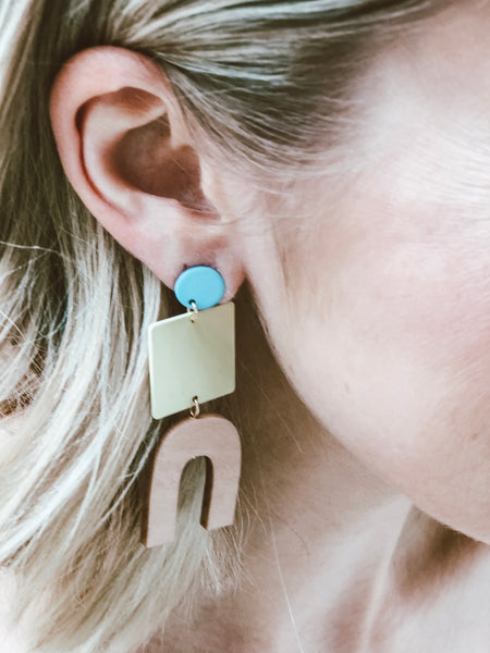 Hazel Geometric Earrings