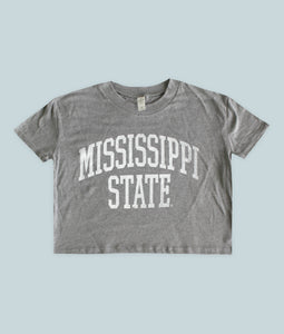 Mississippi State Crop Top
