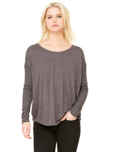 Blanks Long Sleeve Grey