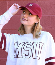Load image into Gallery viewer, Small Logo Baseball Hat Maroon