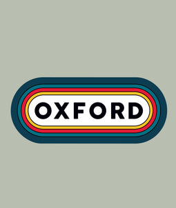 Oxford Die Cut Stickers