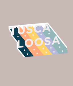Tuscaloosa Die Cut Stickers
