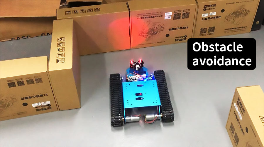 Yahboom G1 smart robot tank for Arduino – yahboom