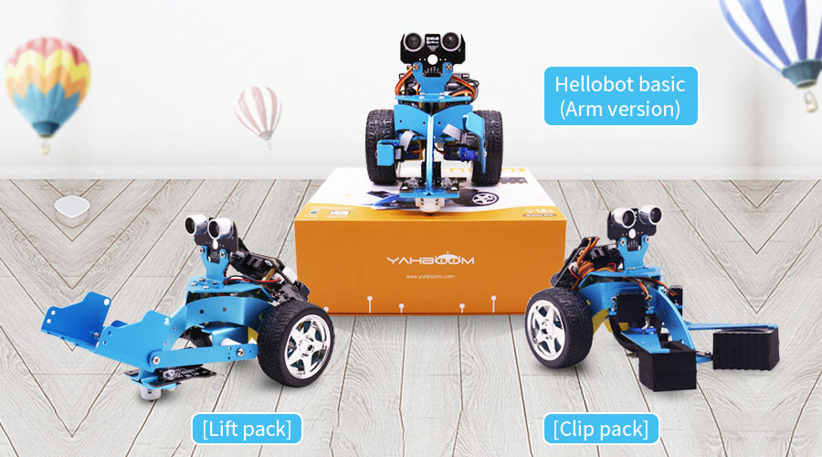 Yahboom HelloBot micro:bit STEM smart robot car – yahboom