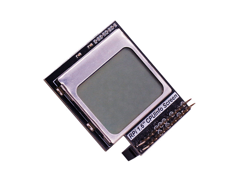 1.6 inch display for Raspberry Pi 4B/3B+