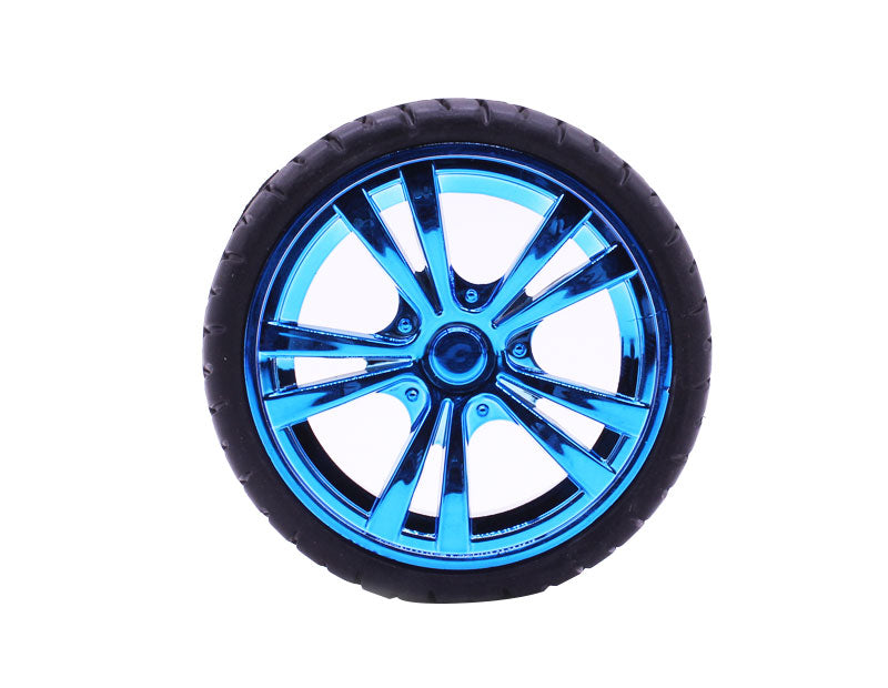 Yahboom smart car 65mm blue electroplated tire