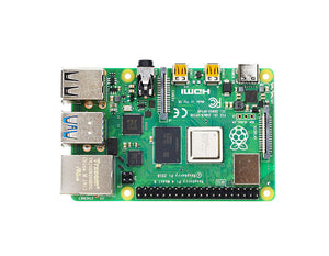 Raspberry Pi 4B board and starter kit