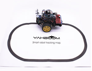 Yahboom Tracking map