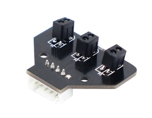 Yahboom 3 channel infrared tracking sensor module