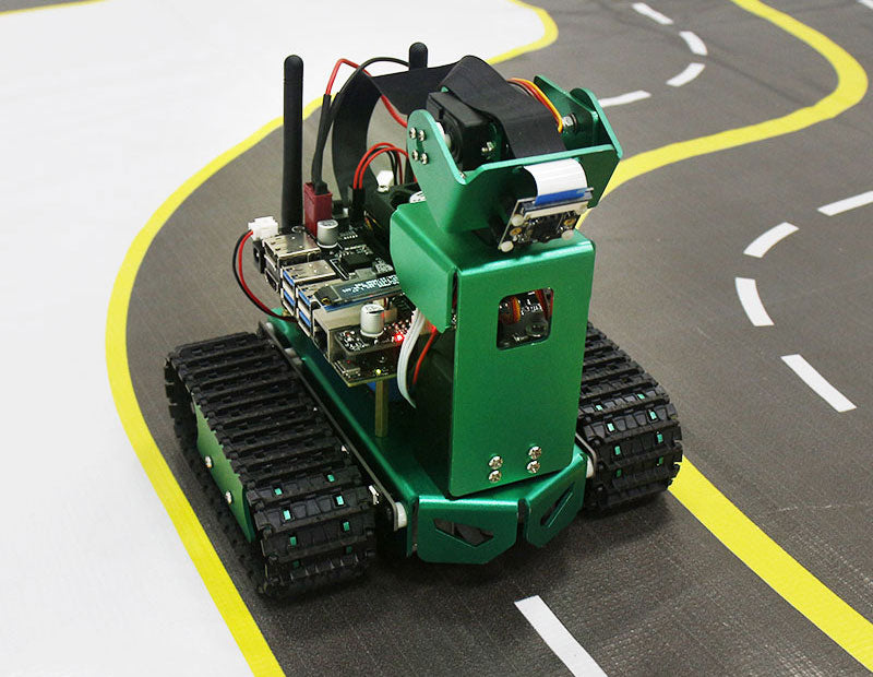 Yahboom AI visual automatic drive track map for Jetbot