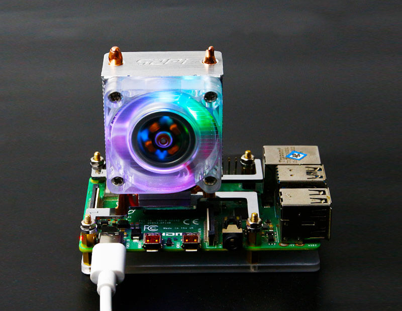 Raspberry Pi New lCE Tower Cooler for 4B/3B+/3B