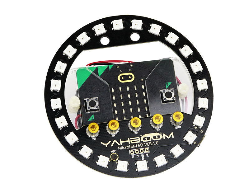 Yahboom Micro:bit RGB LED halo expansion board compatible with Micro:bit V1.5/V2