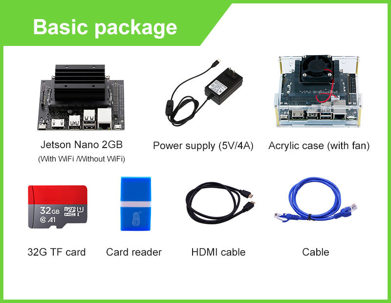 NVIDIA JETSON NANO 2GB board and starter kit