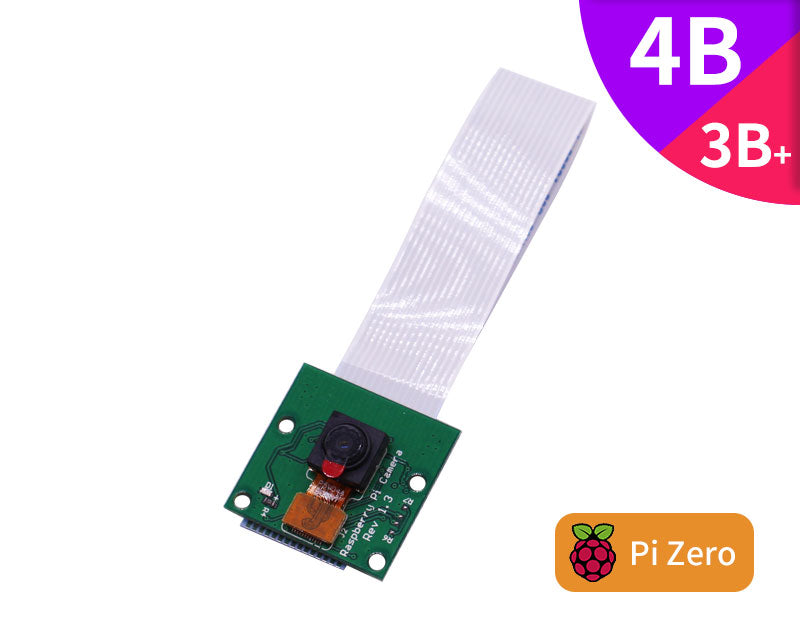 Raspberry Pi  5M 1080p OV5647 sensor wide angle camera module for 4B/3B+/Zero