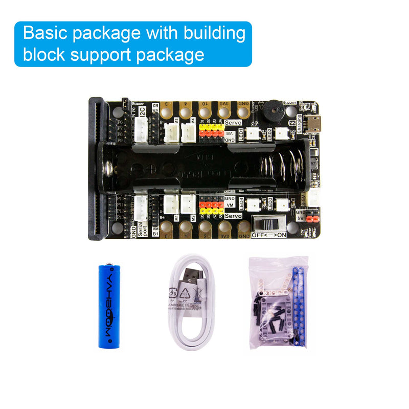 16 in 1 Building:bit Super kit Programmable building block kit compatible with V1.5/ V2 board