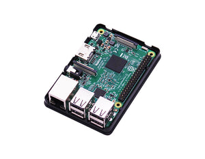 ABS protective black case for Raspberry Pi 3B/3B+