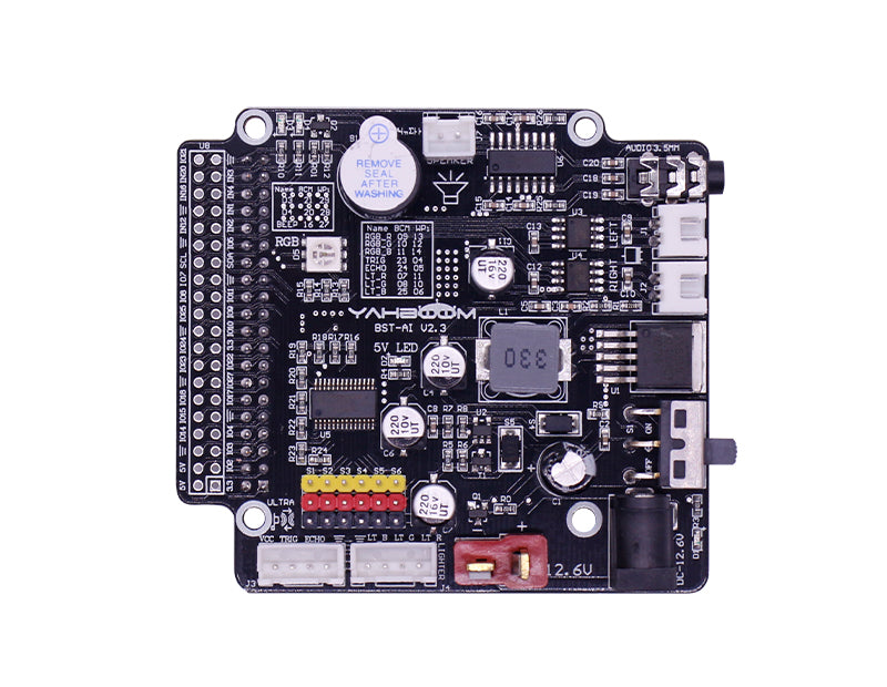 Intelligent Expanding Board Programmable Expanding Board Real-time Display Expanding Board Raspberry Pi 4B And 3B Cooling Fan