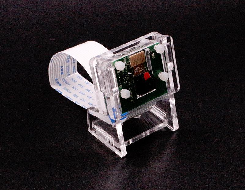 Acrylic protective case for Raspberry Pi camera