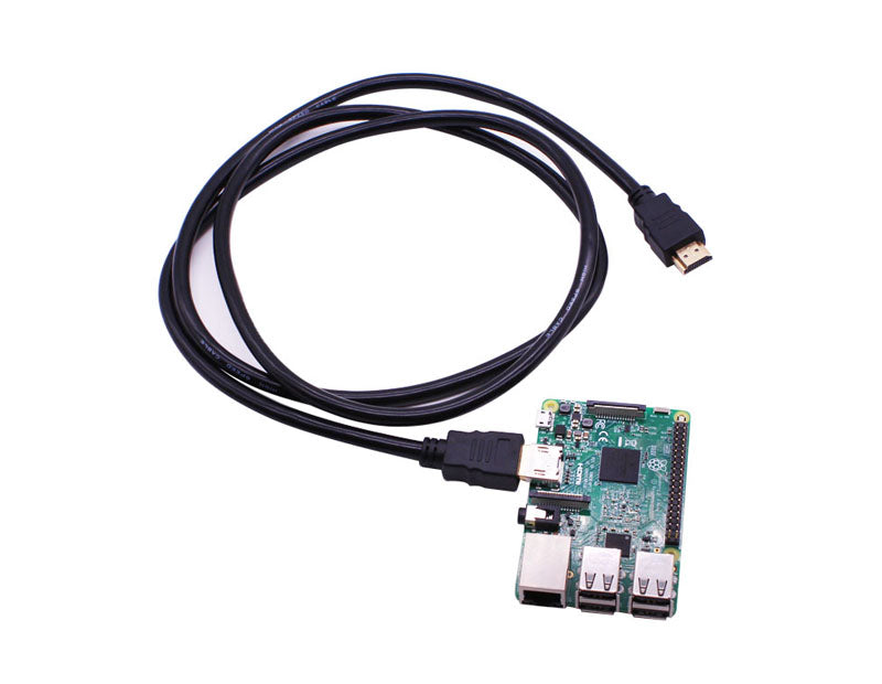 Double HDMI cable for Raspberry Pi 3B+/3B/2B board