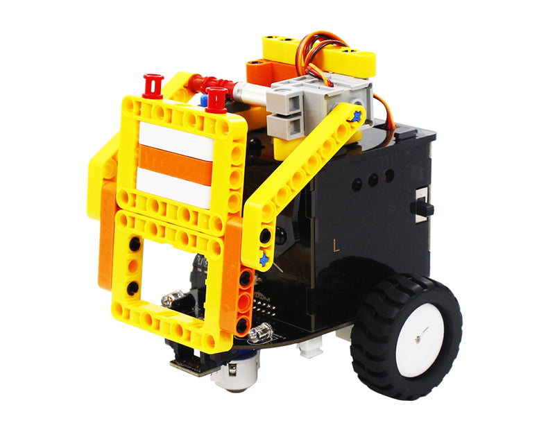 Yahboom OmiBox programmable cute robot car compatible with Scratch3.0 and LEGO(Fighting version)