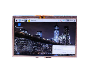 Raspberry Pi 5 inch resistive touch screen display for 4B/3B+