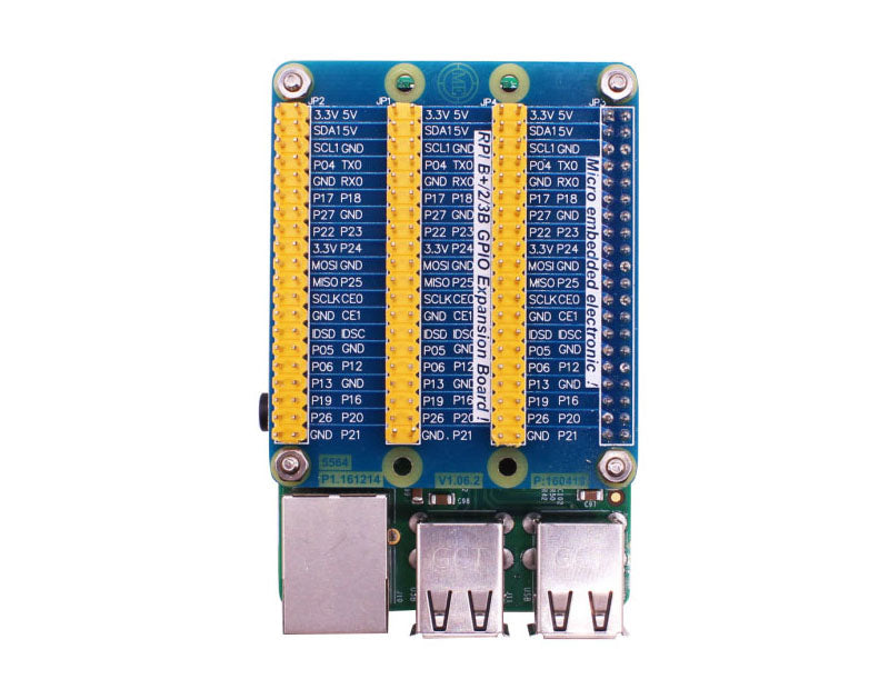 GPIO Expansion Extension Board One Row to Be Three Rows Vaorwne for Raspberry Pi 3 Pi 2 Pi Model B
