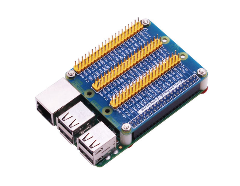 Raspberry Pi GPIO Expansion Extension Board One Row to Be Three Rows for Pi 4/3/2/1