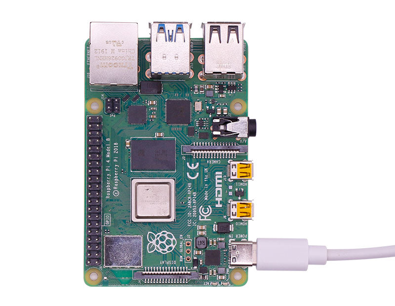 Raspberry Pi 4 High Quality Power Adapter with switch button