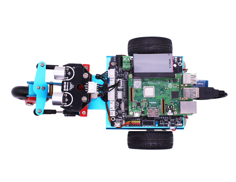 Yahboom Trikebot smart robot for Raspberry Pi with WIFI camera