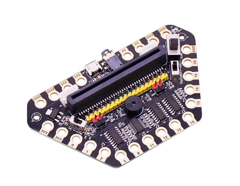 Micro:bit Upgraded alligator clip expansion board