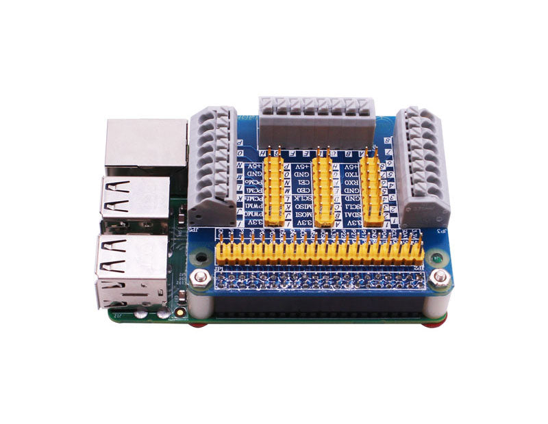 Raspberry Pi GPIO Multifunctional expansion board for 4B/3B/2B