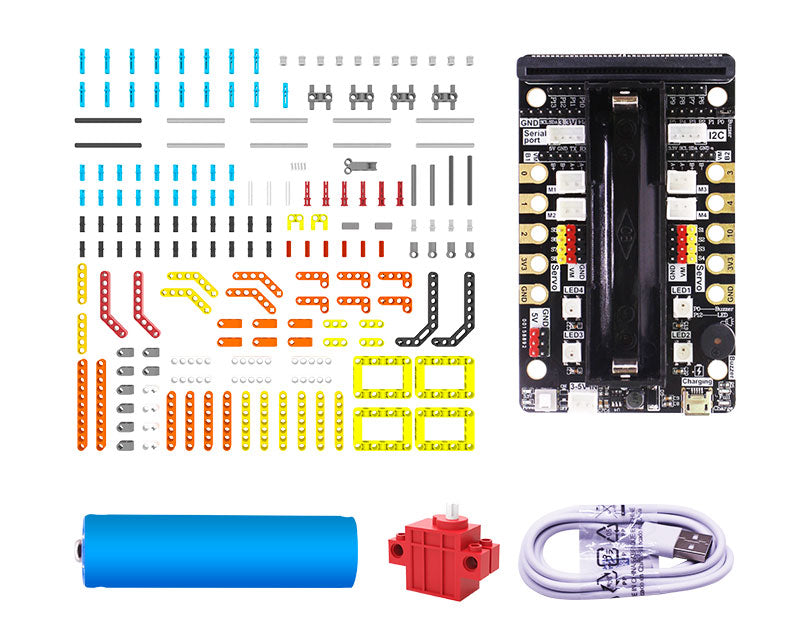 Yahboom programmable Biped:bit based on Micro:bit V2 compatible with LEGO