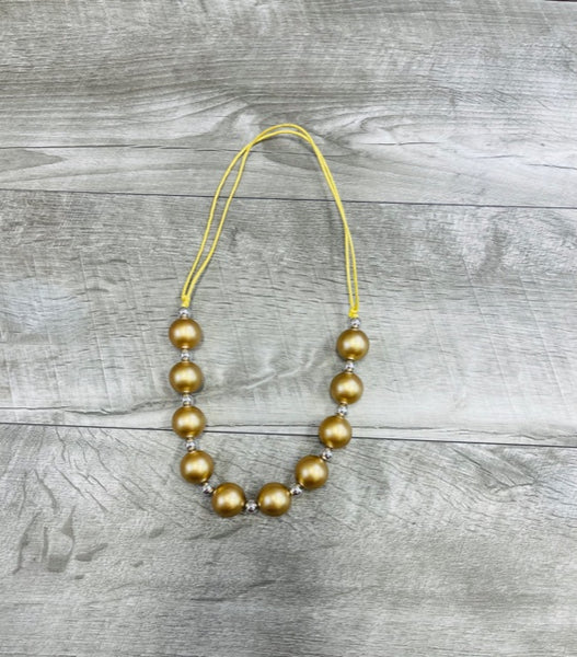 Adjustable Gold Necklace