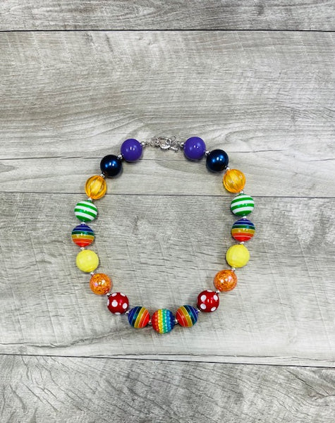 Jaycie Rainbow Necklace