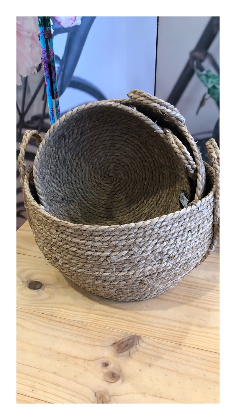 Coast To Coast Large Seagrass basket.