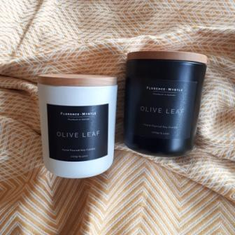 Florence & Myrtle Rose Baies Soy Candle