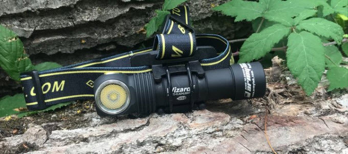 Test et Review Armytek Wizard Pro XHP50 par Trail Session !