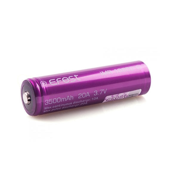 Batterie Efest IMR 18650 - 3500mAh 20A | Nyctalope