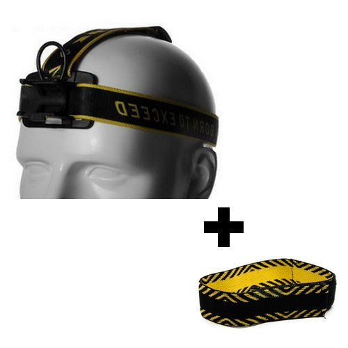 Head Band + Hand Band + Support Fast Clic pour Lampe Frontale Armytek Wizard | Nyctalope